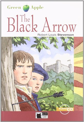 9788853005564: The black arrow. Con CD Audio (Green apple)