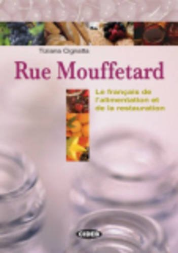 9788853005748: Rue Mouffetard+lexique+cd (Franais de Specialit') (English and French Edition)