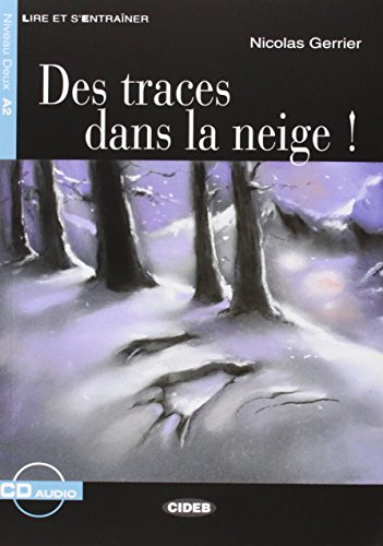 9788853005908: Lire et s'entrainer: Des traces dans la neige + CD