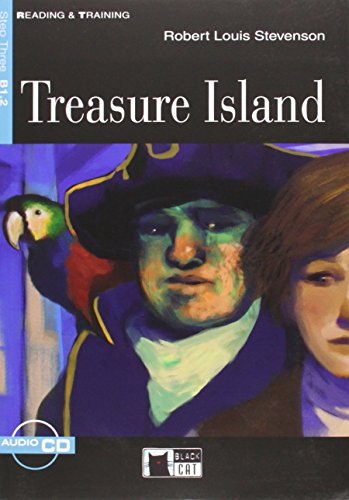 9788853006400: TREASURE ISLAND +CD STEP THREE B1.2: Treasure Island + audio CD (Reading and training)