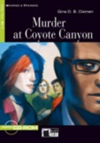 MURDER AT COYOTE CANYON LIVRE+CD B1.1: CLEMEN GINA D B