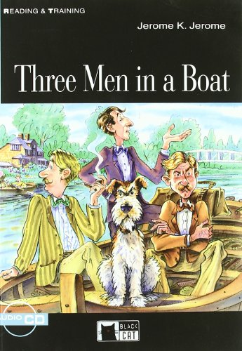 9788853007636: Three men in a boat : Step three (1CD audio)