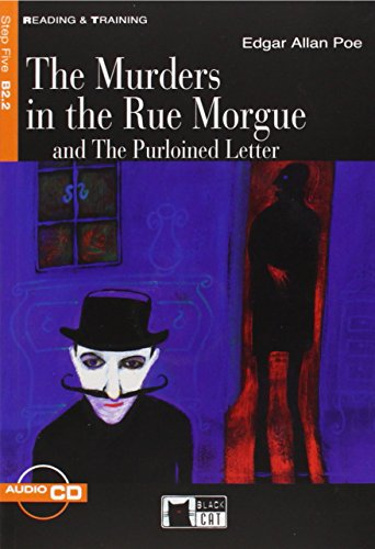 9788853007667: The murders in the Rue Morgue and the purloined Letter. Con CD Audio (Reading and training)