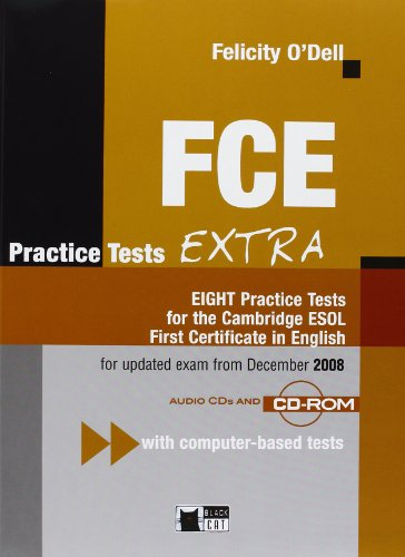 9788853008602: FCE Practice Tests Extra: EIGHT Practice Tests for the Cambridge ESOL First Certificate in English [With CDROM and CD (Audio)]
