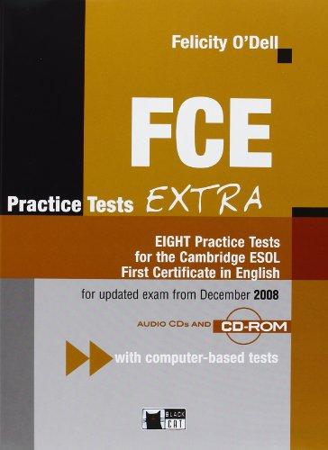 9788853008602: FCE. Practice tests extra. Student's book. Con 3 CD Audio. Per le Scuole superiori (English certification)