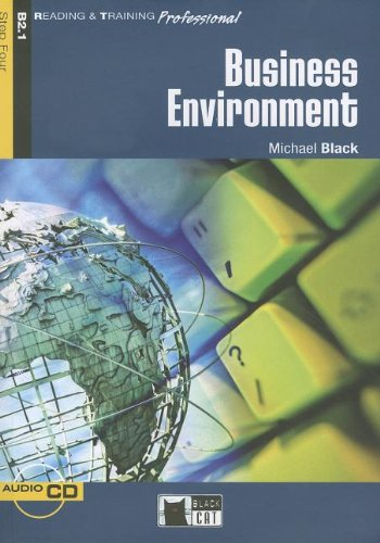 9788853009364: Business Environment, B2.1 (Book & CD) (Reading & Training, Step 4)