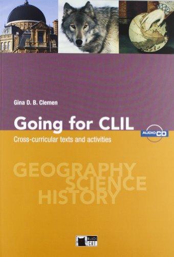 9788853009470: Going for CLIL SS I Grado+cd (Supplementary)