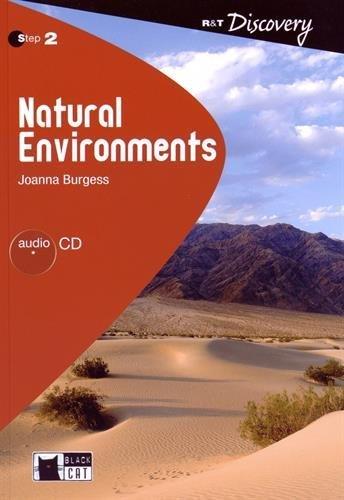 9788853009944: Natural Environments+cd (Reading & Training)