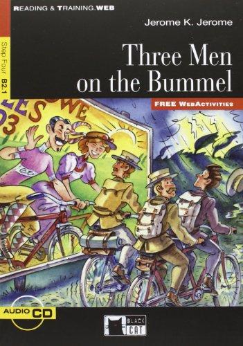 9788853010964: Three Men on the Bummel (Reading & Training: Step 4)