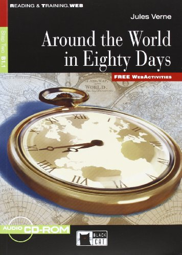 AROUND THE WORLD IN EIGHTY DAYS LIVRE+CD: VERNE NED 2011 B1.1