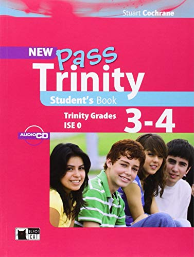 9788853011022: New Pass Trinity: Student's Book + audio CD Grade 3-4 (Examinations)