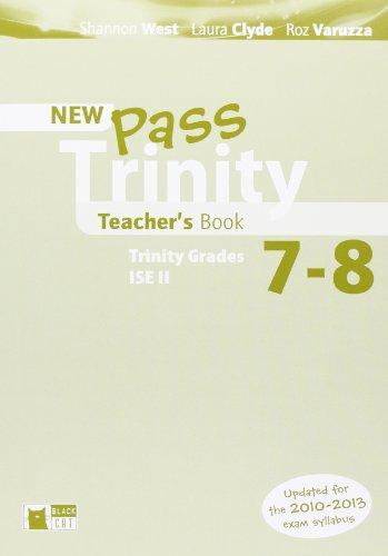 9788853011077: Pass Trinity 7/8 Teacher's Book (Examinations)