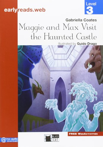 9788853012654: Maggie and Max visit the Haunted Castle. Level 3 [Lingua inglese]