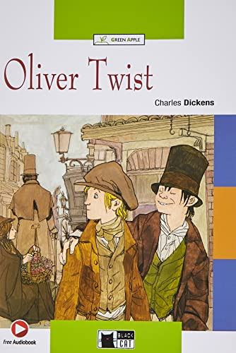 Green Apple: Oliver Twist + Audio CD/CD-Rom: Dickens, Charles