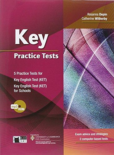9788853013538: Key practice tests. Con CD Audio. Per le Scuole superiori