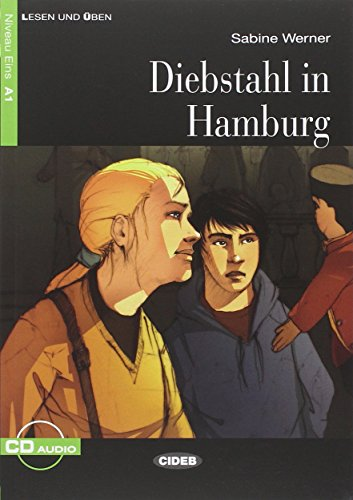 9788853014306: Diebstahl in Hamburg. Con CD Audio