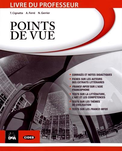 9788853014856: Points de vue : Livre du professeur (1DVD + 1 CD audio)