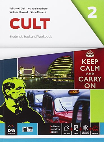 9788853014993: Cult. Student's book-Workbook. Per le Scuole superiori. Con e-book. Con espansione online [Lingua inglese]: 2
