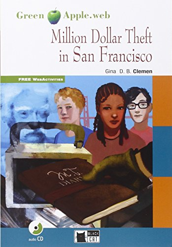 9788853015129: Million dollar theft in San Francisco. Con CD Audio (Green Apple)