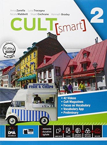 9788853015730: Cult [smart]. Student's book-Workbook. Per le Scuole superiori. Con CD Audio. Con DVD-ROM. Con e-book. Con espansione online: 2