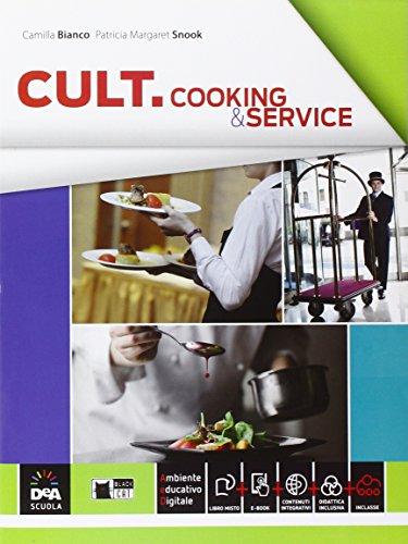 9788853015778: Cult cooking & service. Per le Scuole superiori. Con e-book. Con espansione online