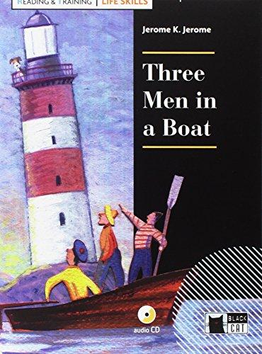 9788853016461: Three men in a boat. Con App. Con CD-Audio