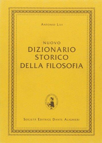 9788853402653: Nuovo dizionario storico della filosofia. Per le Scuole superiori