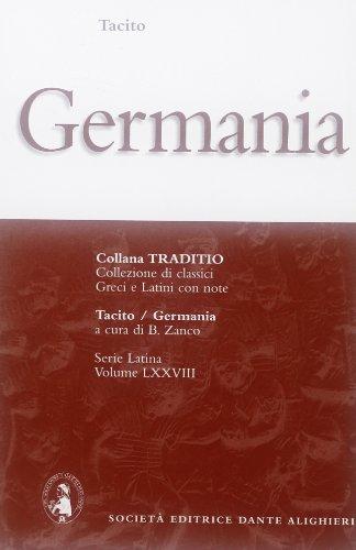 9788853406163: GERMANIA, ZANCO