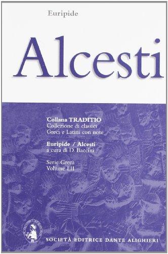 9788853407146: ALCESTI, BACCINI