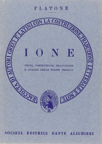 IONE. VERSIONE INTERLINEARE: PLATONE
