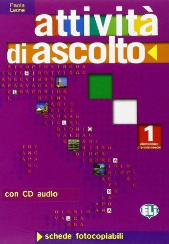 9788853600172: Attivita DI Ascolto: Volume 1 + CD (Italian Edition)
