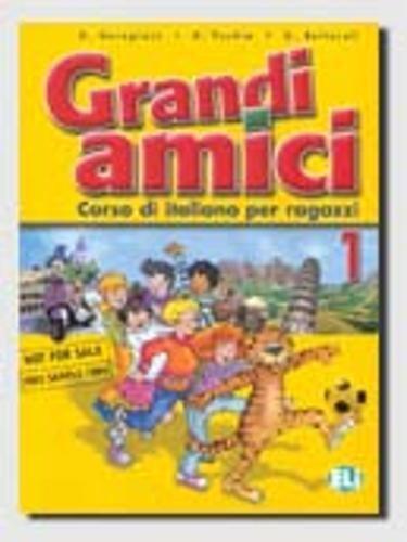 9788853601483: Grandi amici: 1 (Corso di lingua italiana)
