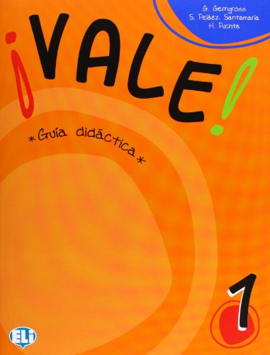 9788853602008: ¡Vale! Gruia Didactica, Book 1 (Spanish Edition)