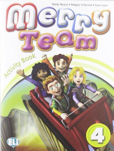 9788853603548: Merry team. Student's book-Activity book. Per la 4ª classe elementare. Con CD Audio. Con DVD-ROM (Corso d'inglese scuola primaria)