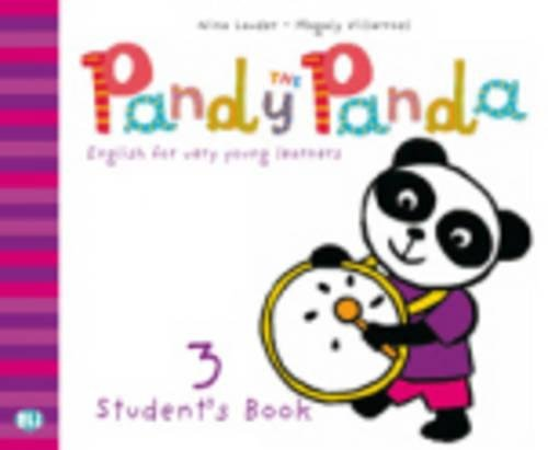 9788853605818: Pandy the Panda: Student'S Book 3 + Song Audio CD