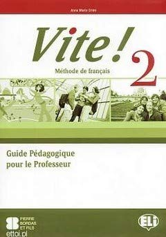 9788853606129: Vite!: Guide Pedagogique 2 & CD-Audio (3) (French Edition)