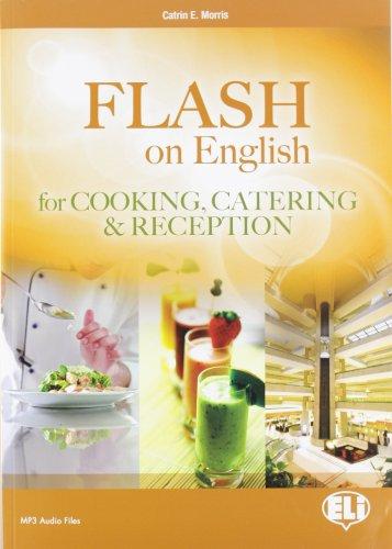 9788853606419: Flash on english for cooking, catering & reception. Con espansione online. Per le Scuole superiori (Corso di inglese sc. secondaria. 2 grado)