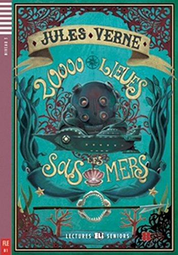 9788853606563: Young Adult Eli Readers: Vingt Mille Lieues Sous Les Mers + CD (French Edition)