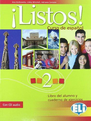 9788853609793: ¡Listos! Libro dello studente-Eserciziario. Con CD Audio. Per la Scuola media: 2