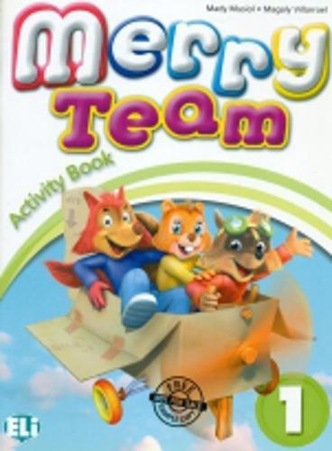 9788853611000: Merry Team: Activity Book v. 1
