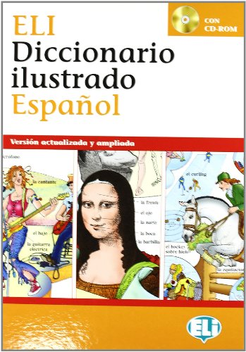 "ELI Picture Spanish Dictionary + CD 8.5""x"