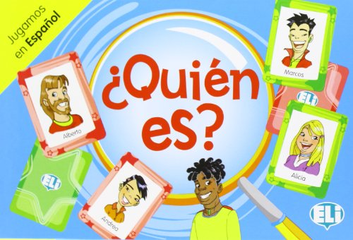 9788853611734: ELI Language Games: Quien es?
