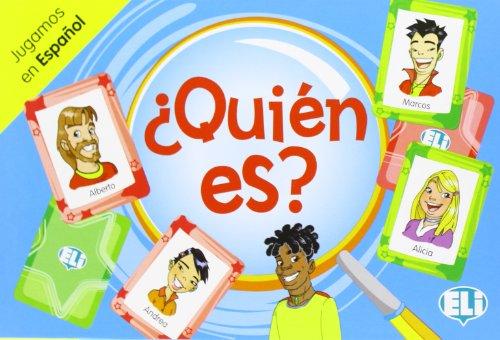 9788853611734: ELI Language Games: Quien es?