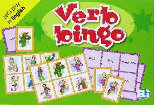 9788853611758: ELI Language Games: Verb Bingo