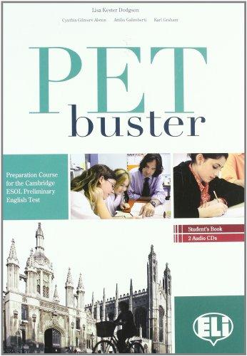 9788853612687: PET Buster. Senza soluzioni. Con 2 CD Audio. Per le Scuole superiori