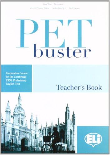 9788853612717: PET Buster: Teacher's Book