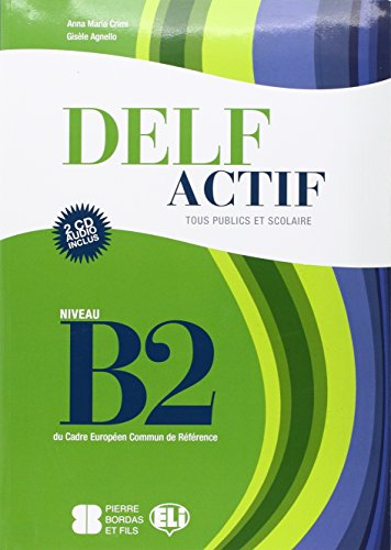 9788853613073: Delf actif. B2. Adultes. Per la Scuola media. Con CD Audio
