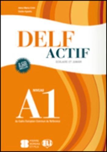 9788853613776: Delf Actif Scolaire ET Junior: Livre + 1 CD Audio (French Edition)