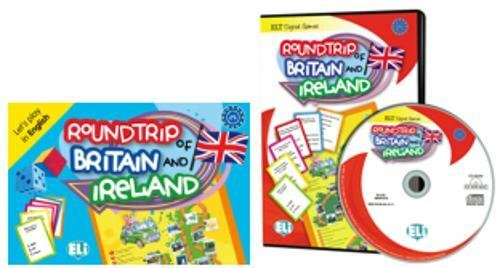 9788853614124: ELI Digital Language Games: Roundtrip of Britain and Ireland - game box + digita
