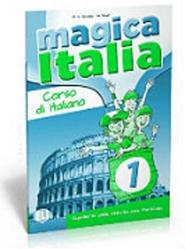 Magica Italia: Libro Degli Esercizi + Portafoglio